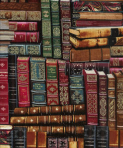 BÜCHER Stoff Nr. 130106 - 1 Fat Quarter