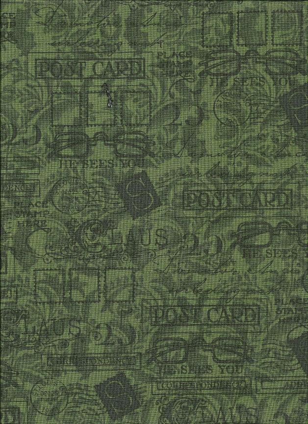 Weihnachtsstoff SANTA CLAUS Stoff Nr. 130654 - 1 Fat Quarter