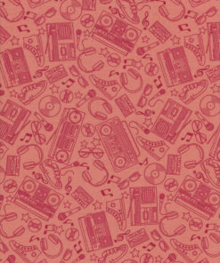 MUSIC BEAT BOP Stoff Nr. 131104 - 1 Fat Quarter