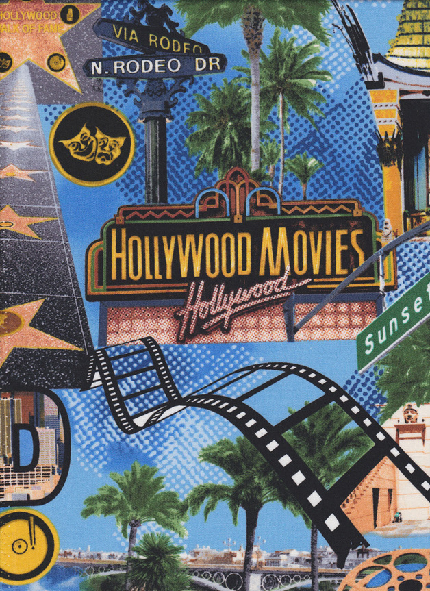 HOLLYWOOD MOVIES Stoff Nr. 141005 - 1 m