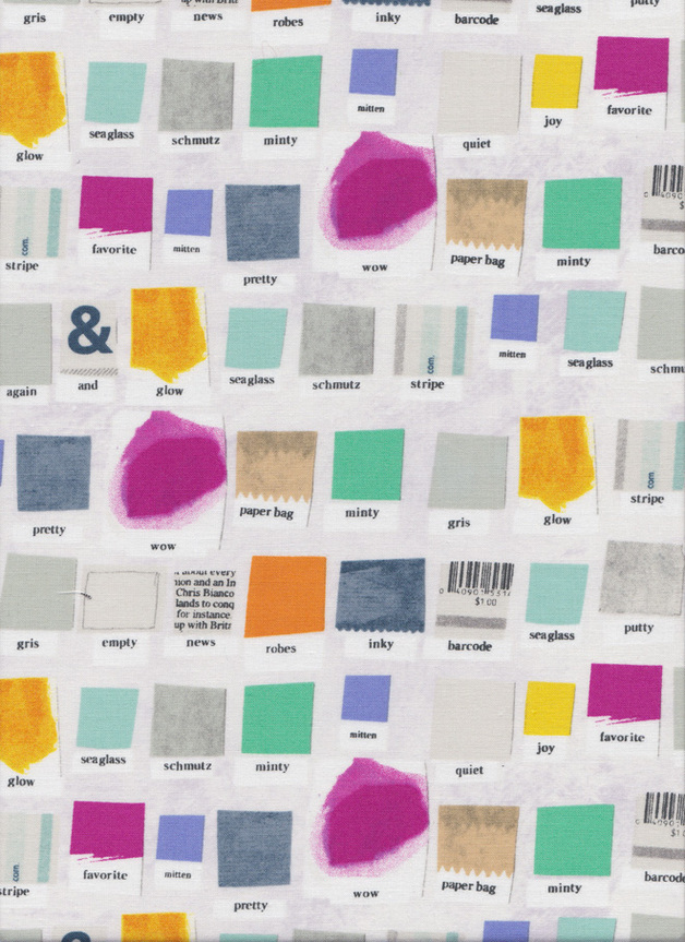 """PAINT"" FARBSKALEN Stoff Nr. 141032 - 1 Fat Quarter"