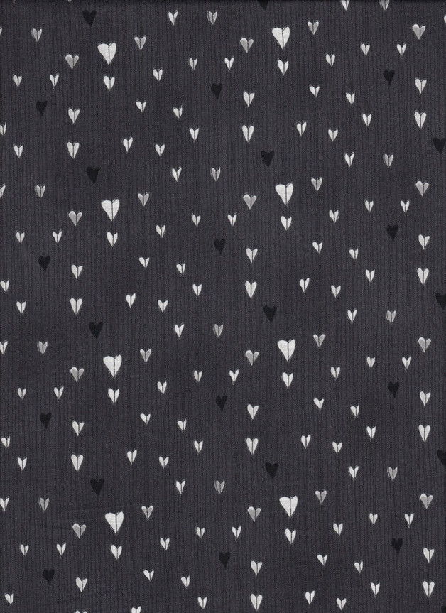 HERZEN Stoff Nr. 150563 - 1 Fat Quarter