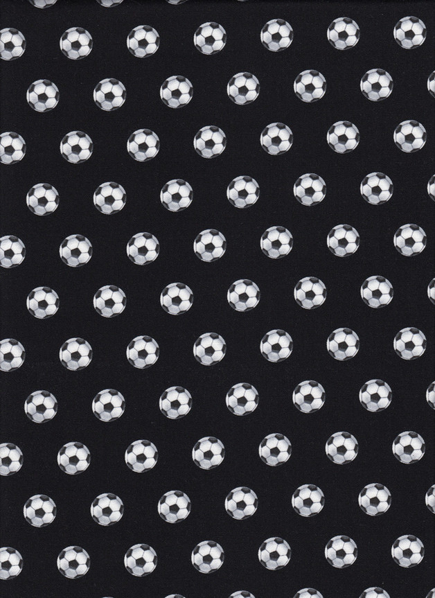 FUSSBALL Stoff Nr. 161132 - 1 Fat Quarter