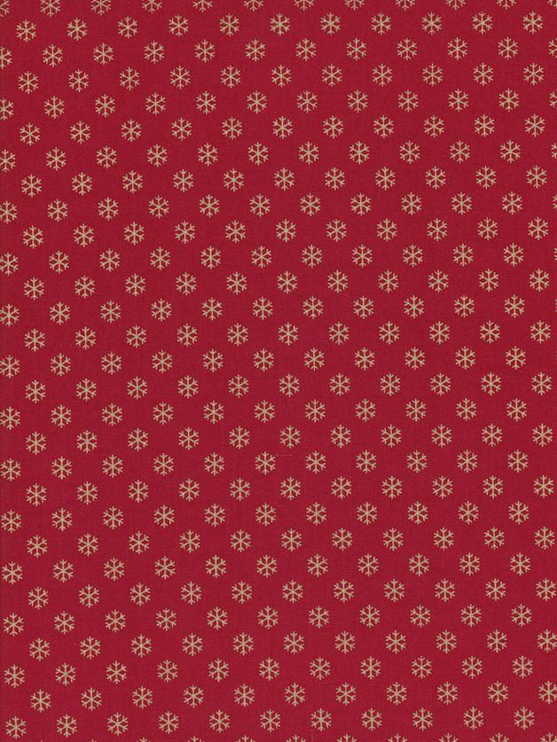 SCHNEEFLOCKEN Weihnachtsstoff Nr. 151003 - 1 Fat Quarter