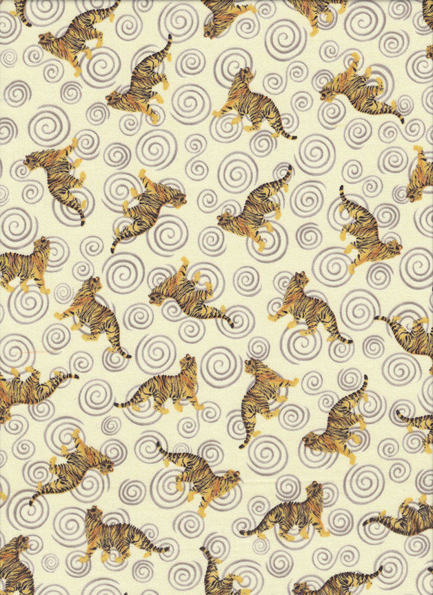TIGER Stoff Nr. 150630 - 1 Fat Quarter