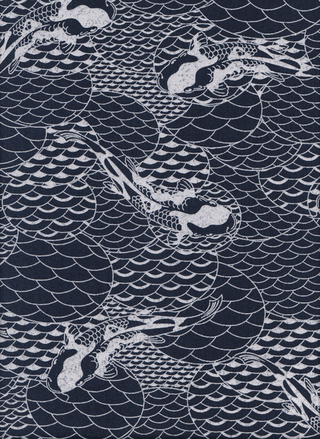 KOI JAPAN STOFF Nr. 160617 - 1 Fat Quarter