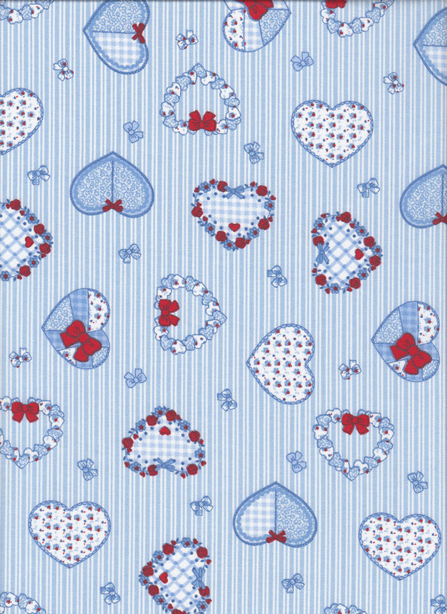 SWEETHEART Stoff Nr. 170618 - 1 Fat Quarter