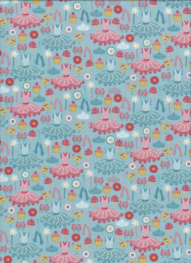 TUTU ICONS Stoff Nr. 151106 - 1 Fat Quarter