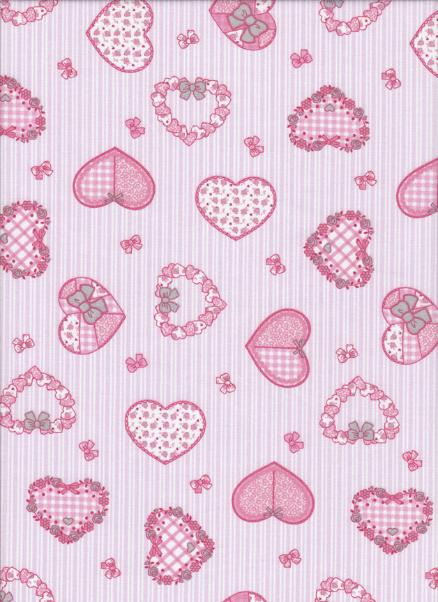 SWEETHEART Stoff Nr. 170617 - 1 Fat Quarter