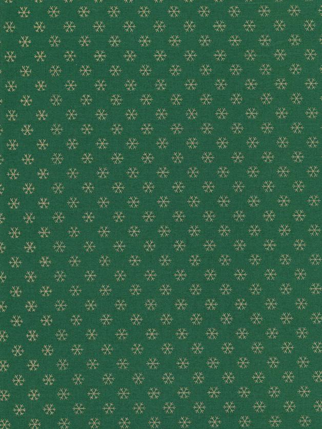 SCHNEEFLOCKEN Weihnachtsstoff Nr. 151004 - 1 Fat Quarter