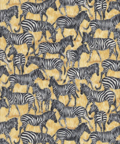 ZEBRAS Stoff Nr. 170145 - 1 Fat Quarter
