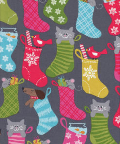 Weihnachtsstoff STOCKING Stoff Nr. 161205 - 1 Fat Quarter