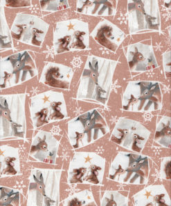Weihnachtsstoff WOODLAND WONDER Nr. 170128 - 1 Fat Quarter