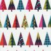 Weihnachtsstoff WRAP TREES Nr. 160625 - 1 Fat Quarter