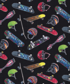 SKATEBOARDS Stoff Nr. 160301 - 1 Fat Quarter