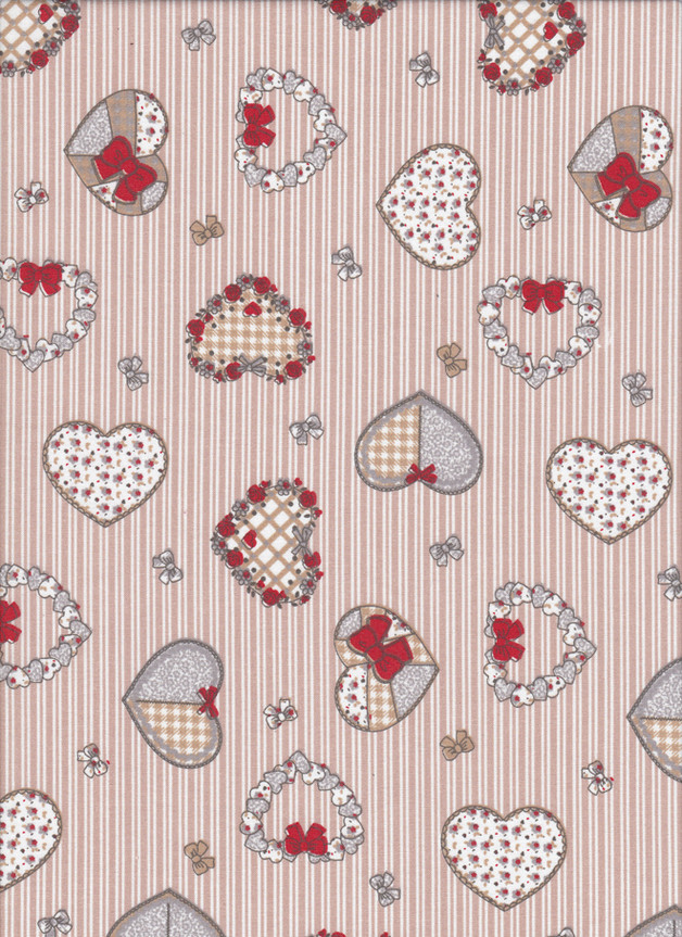 SWEETHEART Stoff Nr. 170616 - 1 Fat Quarter