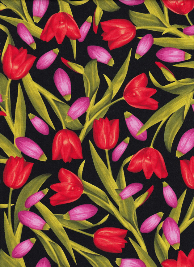 TULPEN Stoff Nr. 160562 - 1 Fat Quarter